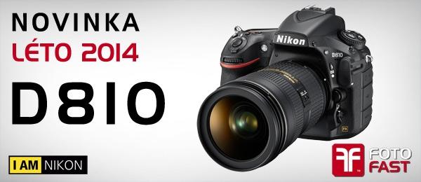 Nikon uvádí D810