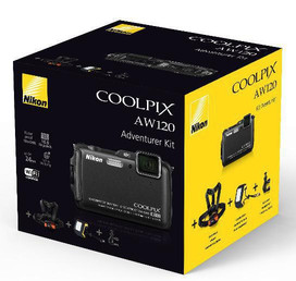 Nikon Coolpix AW120 Adventure Kit